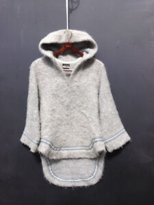 "Handwoven wool amauti Vintage ""Pangnirtung Eskimo Products"""