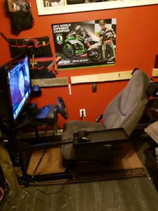 Racing simulator for ps4,ps3, and pc