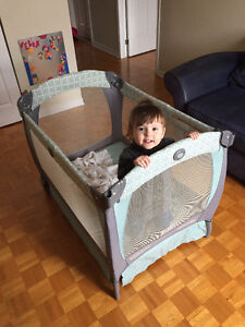 Portable Baby Crib – Graco Pack N Play