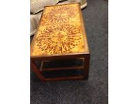 Retro coffee table good condition free delivery