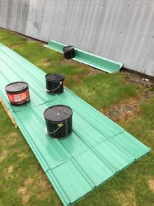 Matériaux pour toiture Tôle