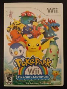 Pokepark Wii Pikachu's Adventure for Nintendo Wii