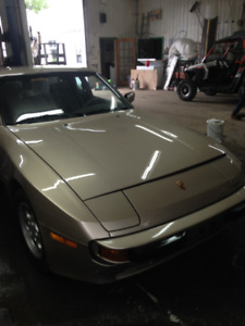 porsche 944 accidente pour pieces une 1986 une 1985 une 1983