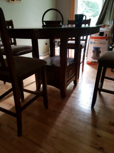 Pub style dinning room table SOLD
