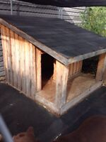 XXL Dog House with Porch