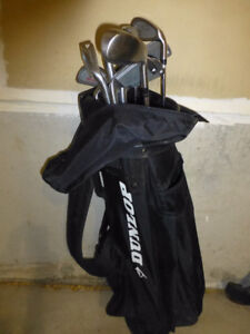 GOLF CLUBS WITH GOLF BAG