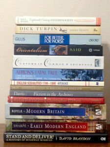 Early Modern, (primarily) British History Books for Sale