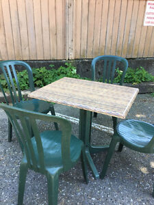 Outdoor Restaurant Tables Chairs