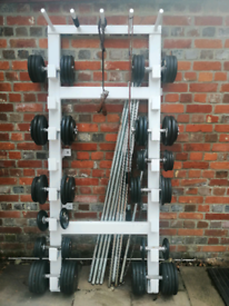 Adjustable dumbells from 5 kg to 40kg