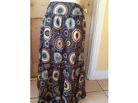 Papaya size 14 long skirt 100% cotton