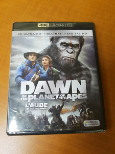 4k blu ray Dawn of the Planet of the Apes