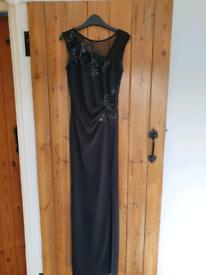 Lipsy Black Ball gown size 6 dress