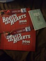 Boots and hearts 2016 tickets