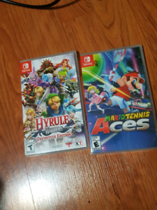 Mario Tennis: Aces & Hyrule Warriors - Switch