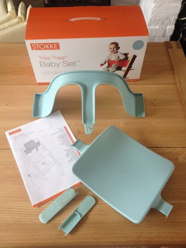 Stokke Tripp Trapp Baby Set (Aqua Blue) | in Sale, Manchester ...
