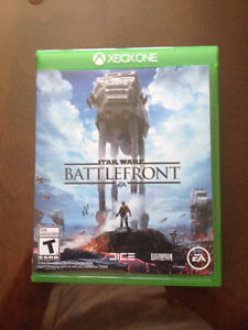 XBOX ONE BATTLEFRONT  GAME