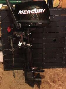 4 hp Mercury 4 stroke.