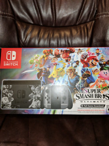 Super Smash Bros Ultimate edition switch with full game.