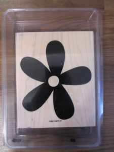 Stampin' Up! large wood stamp $6