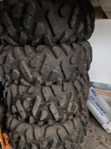 Maxxis Bighorn 26x11-14 and 26x9-14