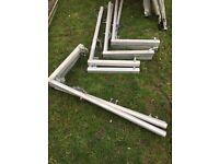 Youngman guardrail scaffolding