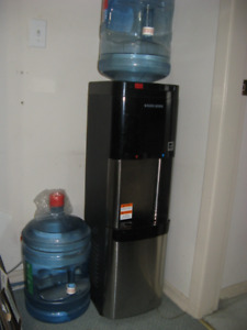 Black & Decker water cooler, provides both hot and cold water