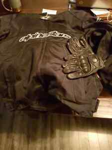 motorcycle gear. same as new condition