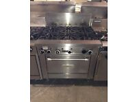 GARLAND 6 BURNER COOKER WITH OVEN