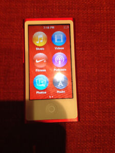 iPod Nano 7th Generation Product Red 16GB Contact to Meet