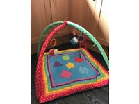 Chad valley play mat and fisher price kick and play piano