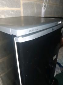 Black n silver fridge