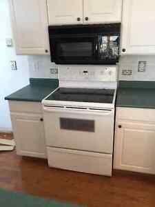 Built-in microwave, dishwasher