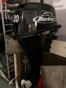 Fishing PKG -  20HP Berkley 4 stroke outboard and trolling motor