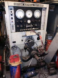 Crypton Electrical Test Bench