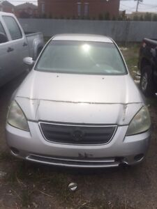 Nissan Altima 2004 for parts