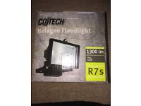 Co Tech Halogen Floodlight - perfect for Winter evenings!