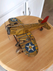 Marx War Tin Fighter Plane # 712