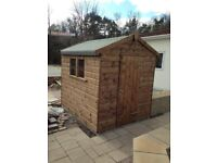 Quality 16mm or 21mm garden sheds, garages, workshops, summerhouses etc