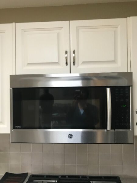 Ge profile over the range microwave oven for sale