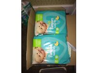 198 pampers nappies size 2