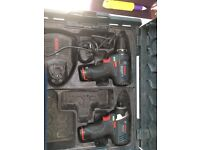 Bosch 10.8v drill and impact driver.