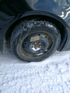 Set of 4 Winter Tires! For cheap!