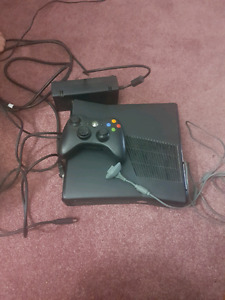 120 gb Xbox 360 and games. Selling as lot only*