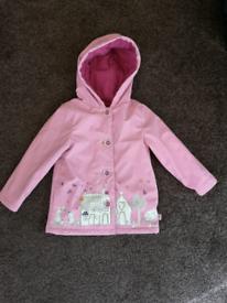 Girls coat with fleece 18-24 months