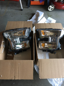 For Sale 2017 F150 OEM Headlights