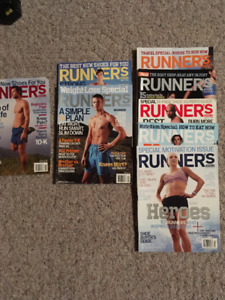23 Runners magazines from 2004-2011