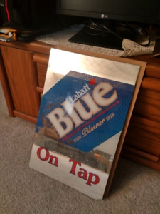 Vintage Labatt Blue Bar Mirror