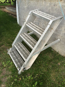 Aluminum stairs (Three of them) heavy duty