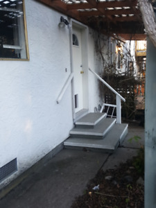 1-Bedroom private bachelor at 1713 Garnet Rd - Close to UVic