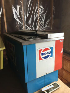 Old Pepsi fridge